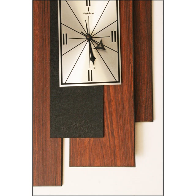 Image of 1960s Danish Modern George Nelson Style Wall Clock