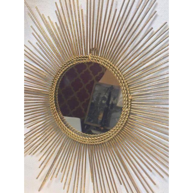 Gold Sun Burst Mirror - Image 5 of 6