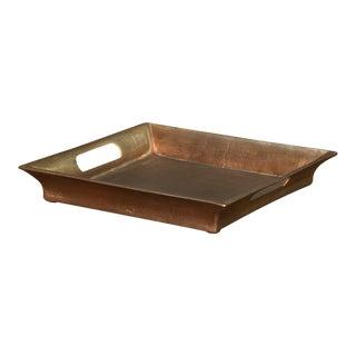 Sarreid LTD Antiqued Aluminum Tray