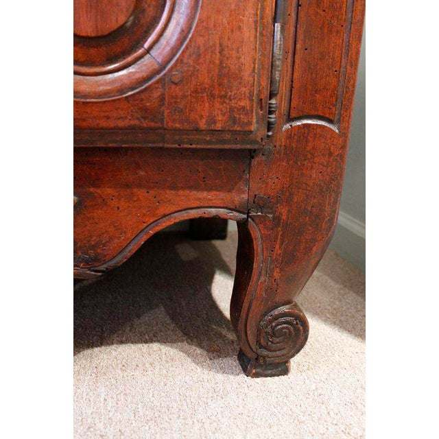 French Provençal Fruitwood Buffet With Carved and Pierced Skirt - Image 8 of 10