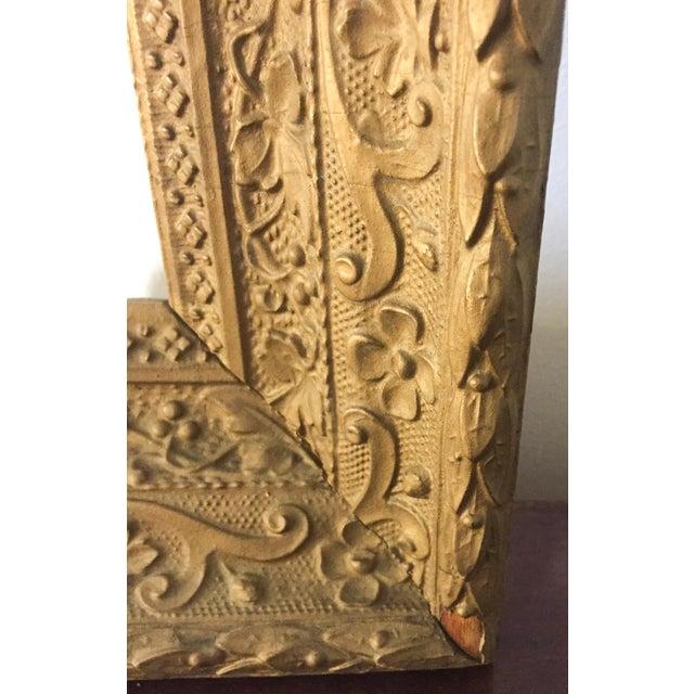 Large Antique Gilt Wood Frame - Image 5 of 8