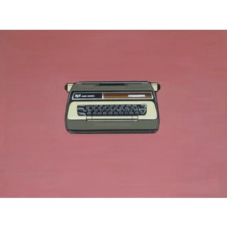 Vintage Smith-Corona Typewriter Painting