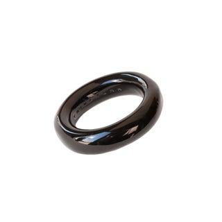 Trina Turk Resin Black Bangle Bracelet