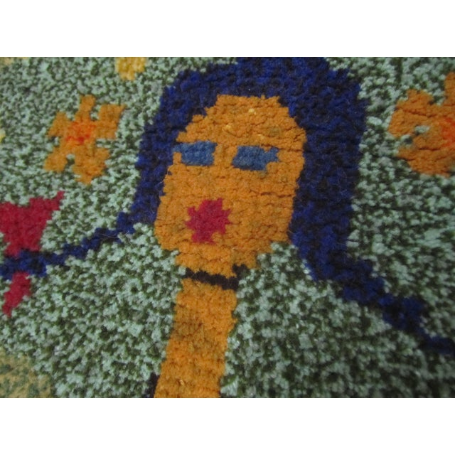 Hungarian Tapestry of a Young Woman - Image 5 of 5