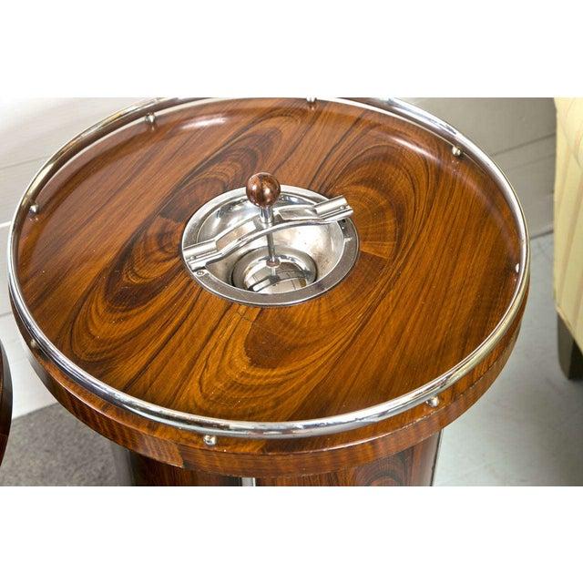 Art Deco Style Bar Tables Pair Chairish