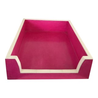 Hot Pink Paper Tray