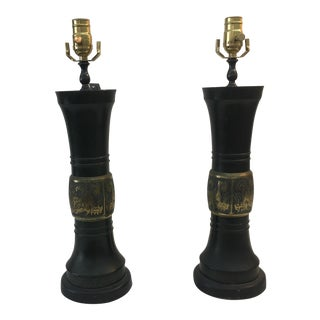Pre-WWII Asian Table Lamps
