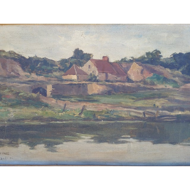 England Cottage On the River Avon Painting - Image 3 of 6