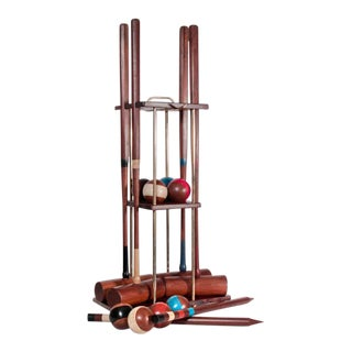 English Contemporary Croquet Set