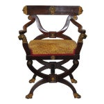 Image of 18th C. French Carved & Gilded Chair