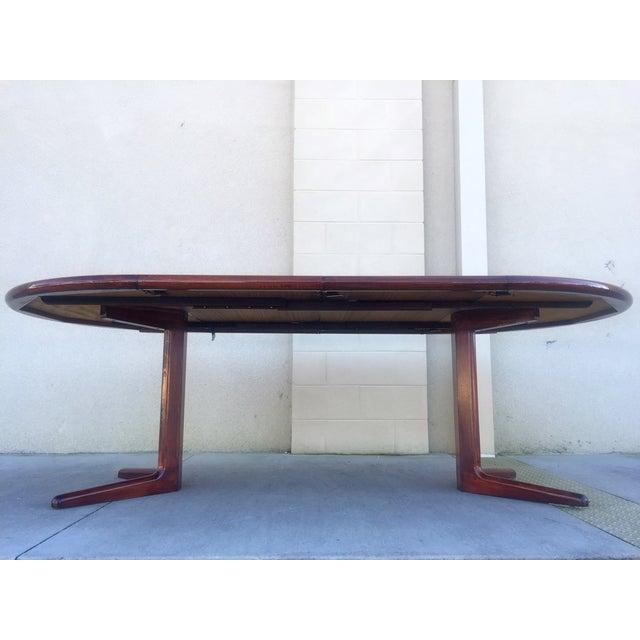 Danish Modern Teak Dining Table - Image 9 of 11