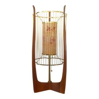 Modaline Sculptural Lamp with Original Shade