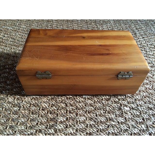 Lane Furniture Cedar Jewelry Box - Image 5 of 5