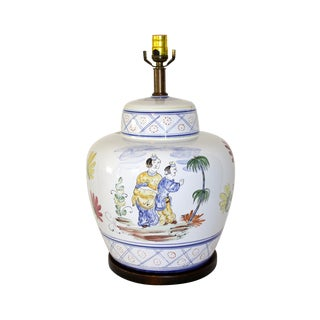 Frederick Cooper Hand-Painted Italian Lamp