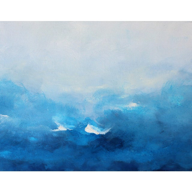 """Swept Away"" Original Abstract Oil Painting - Image 2 of 4"