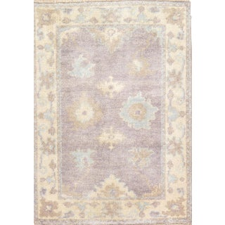 """Pasargad N Y Turkish Oushak Design Hand-Knotted Rug - 2'1"""" X 3'"""