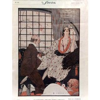 Chazelle 1921 Le Sourire Print