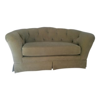 Ethan Allen Tufted Back Loveseat
