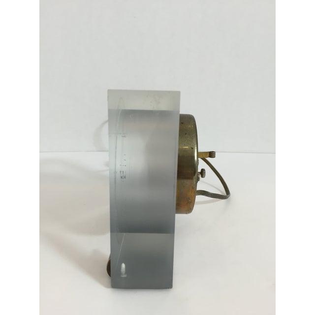 Mid-Century Telechron Lucite Clock - Image 4 of 6