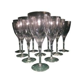 Orrefors Wine Goblets - Set of 10