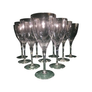 Orrefors Wine Goblets - Set of 10