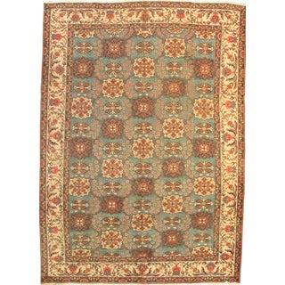 Pasargad N Y Semi-Antique Persian Tabriz Lamb's Wool Rug - 7′8″ × 10′7″