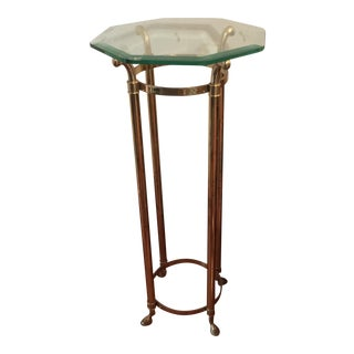 Hollywood Regency Brass Plant Stand