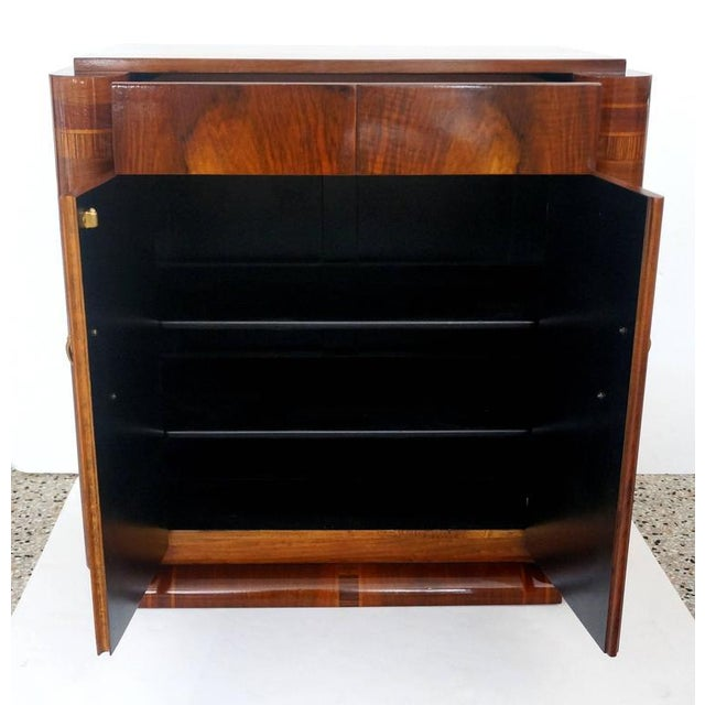 French Art Deco Two-Door Cabinet - Image 8 of 10