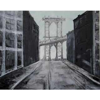 Manhattan Bridge Industrial Cityscape C. Plowden