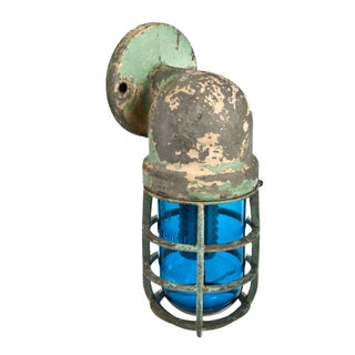 Crouse-Hinds Explosion Proof Factory Sconce - Blue
