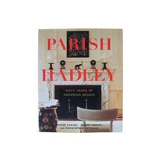 "First Edition Signed ""Parish-Hadley Sixty Years of American Design"" Book"