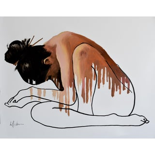 """Asian Nude Pose One"" Painting"