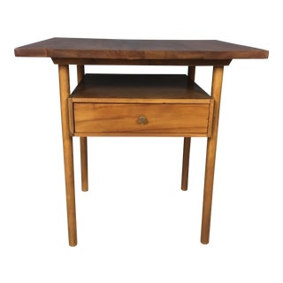 Walnut Side Table by Whitney