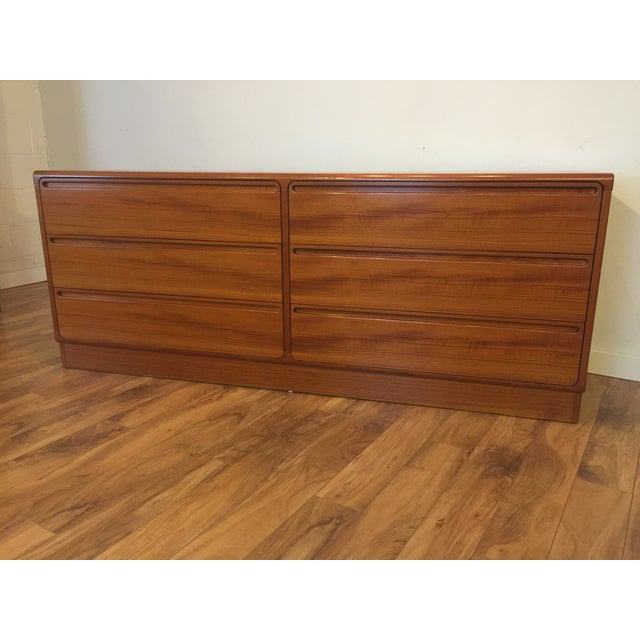 Torring Danish Modern Teak Dresser - Image 4 of 11