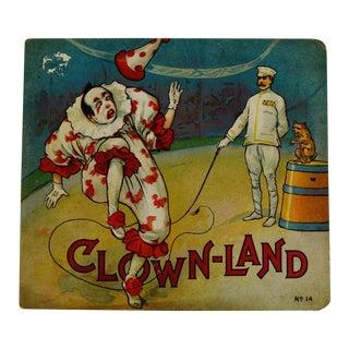 """A Trip to Clown Land"" 1916 Children's Book"