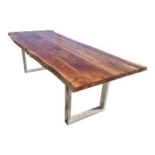 Acacia Wood Live Edge Table