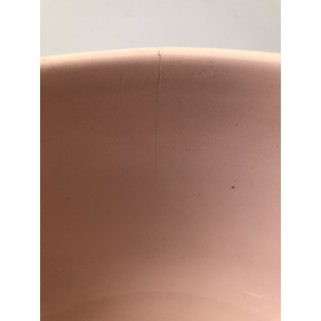 Haeger Pink Pottery Bowl - Image 7 of 9