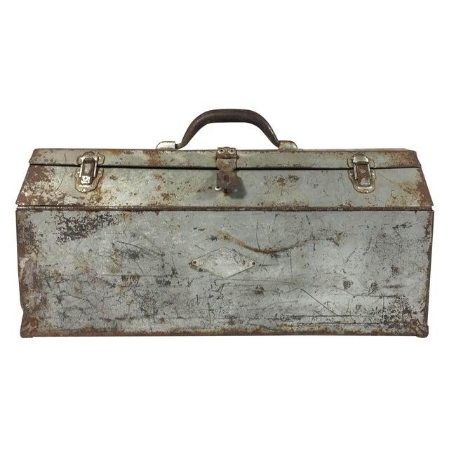 Vintage Industrial Toolbox - Image 1 of 8