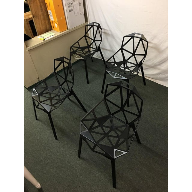 Magis Black Chair One - Set of 8 - Image 10 of 10