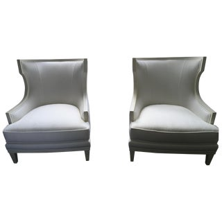 Ethan Allen Corrine Chairs - Pair
