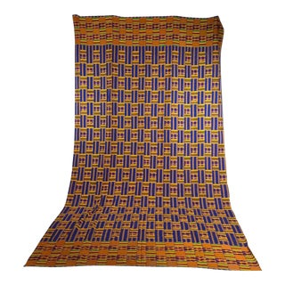 Colorful Handwoven African Textile