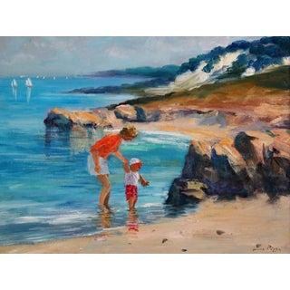 Coastal Impressionism Painting