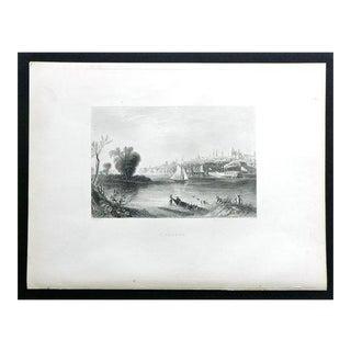 "1883 Antique Print ""Albany"""