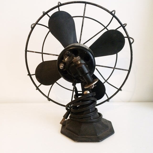 Vintage Industrial Viking Fan - Image 3 of 4