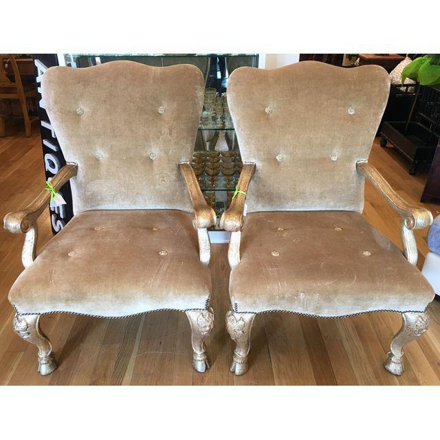 Therien Studios Baroque Arm Chairs- A Pair - Image 3 of 5