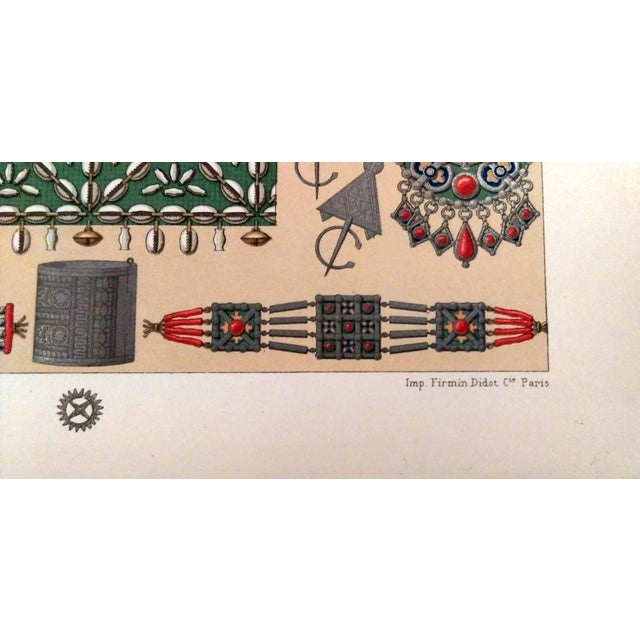 1888 Ornaments of Ancient Africa Lithograph - Image 6 of 8