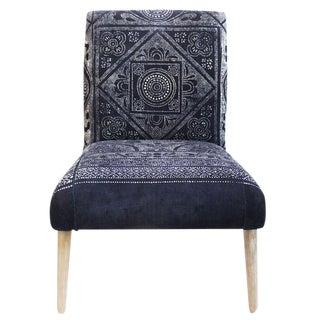 Indigo Dot Print Chair