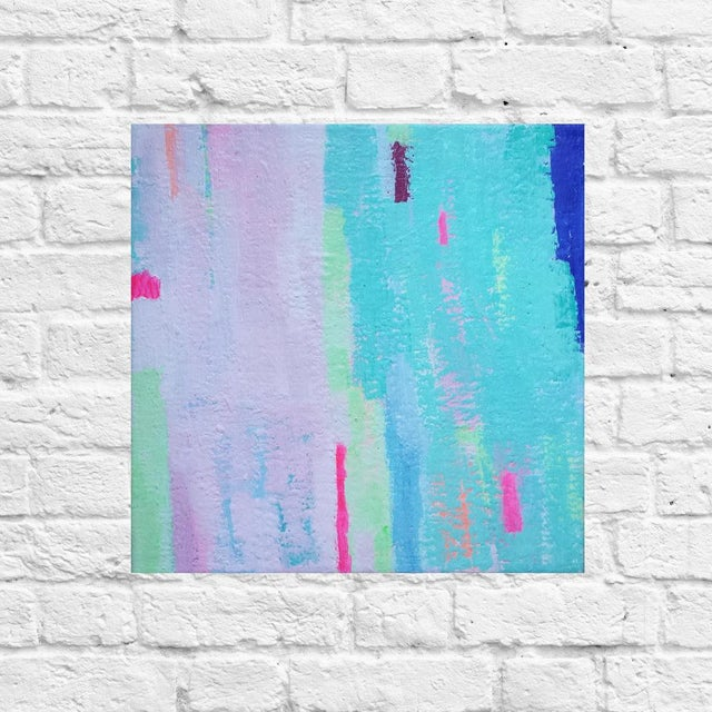 """Susie Kate """"Island Breeze No. 6"""" Abstract Painting - Image 2 of 2"""