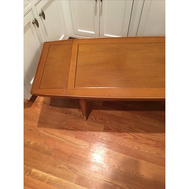 Mid Century Lane Copenhagen Drop Leaf Coffee Table: Lane Drop-Leaf Coffee Table