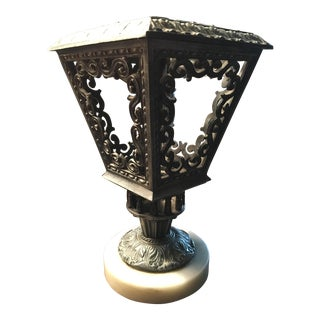 Carriage Candle Holder Hollywood Regency